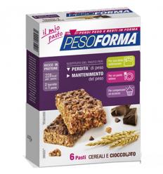 PesoForma bar cereali e cioccol 12pz