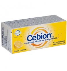 Cebion 10cpr effervescenti limone