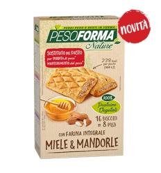 PesoForma biscotti miele mandorle 16pz