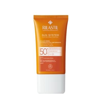 Rilastil Sun d-clar spf50+ crema 40ml light