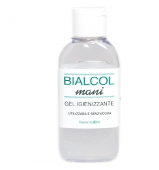 Bialcol mani gel igienizzante 80ml