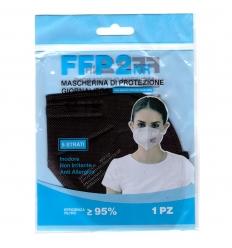 Barbeador Mascherina FFP2 nera